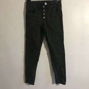 BDG High Rise Olive Green Jeans